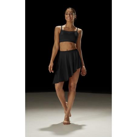 Women's dance asymmetric skirt MS150