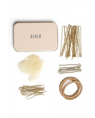 Knoten Set für blondes Haar