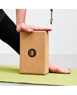 Cork Yoga Block - Small Size