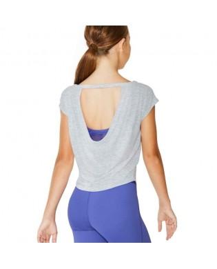 Girl's Bloch Dance T-Shirt FT5136C Grey