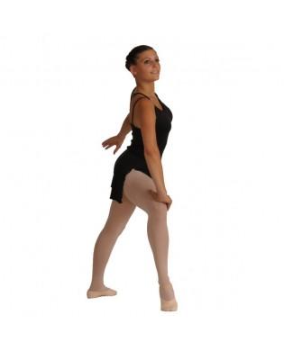 Tunique danse Femme TL31 à bretelles Noir