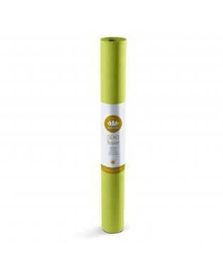 Travel Yoga Mat OEKO Bamboo Green