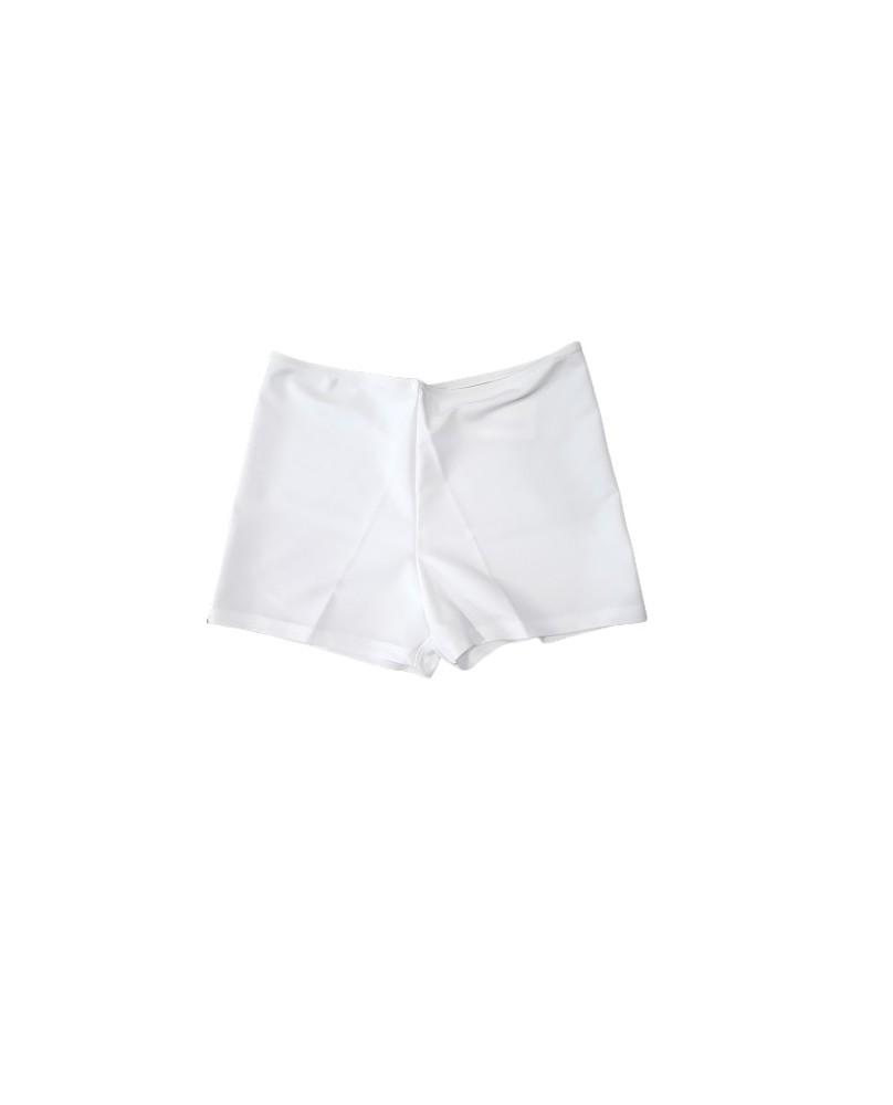 Weiße Tanz Jazz Shorts für Mädchen und Damen