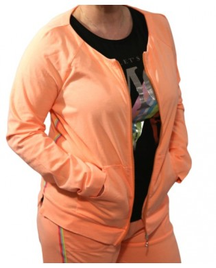 Women's sweatshirt jacket for sport