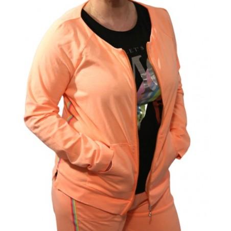 Women's sweatshirt jacket for sport