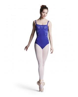 Blue women ballet Leotard