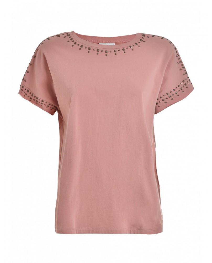 T-Shirt Femme Clouté