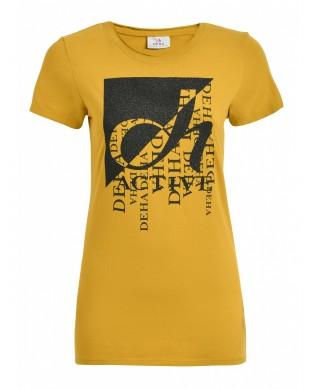 T-Shirt Femme Active Jaune