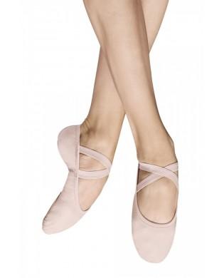 Chausson de danse Demi-Pointes Toile Bi-Semelles Performa S0284L de Bloch Dance couleur ballet