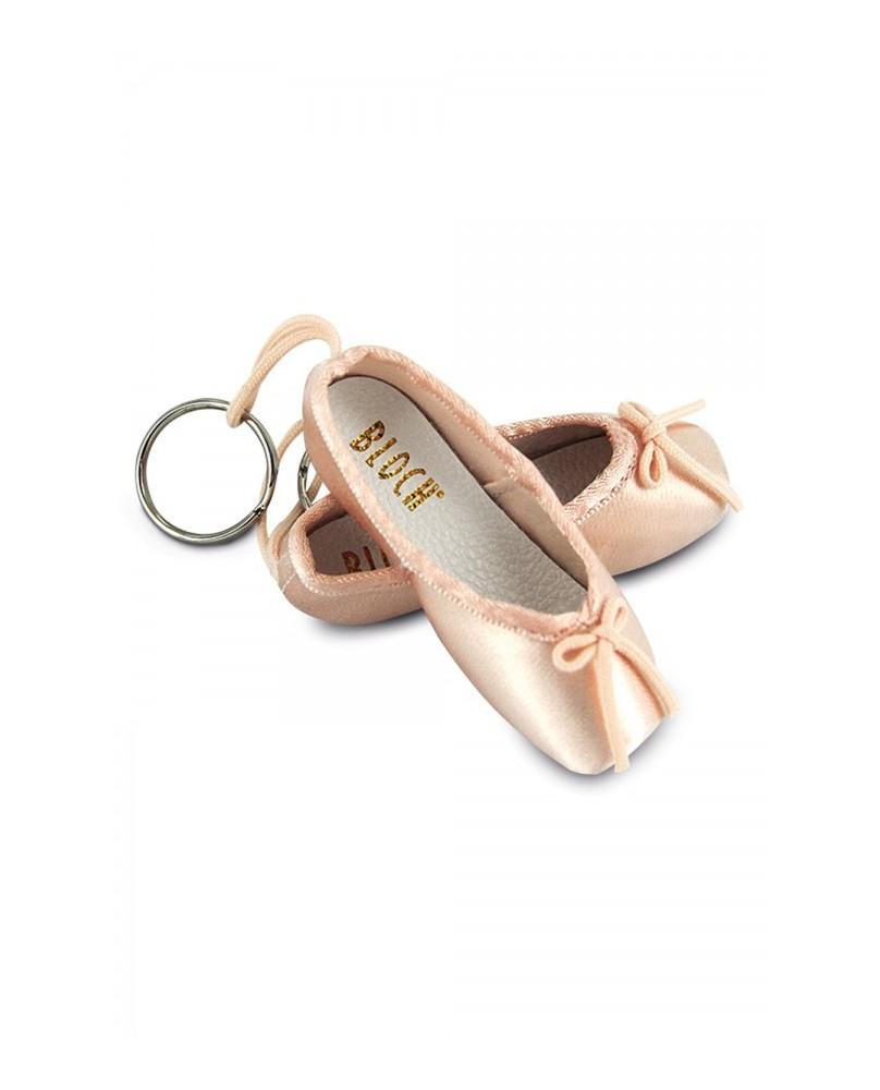 Porte Clés Mini Pointe Rose Ballet