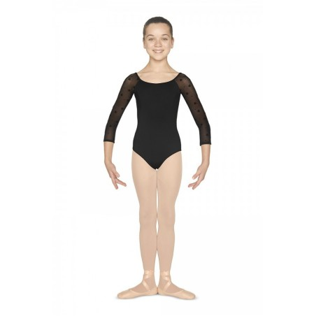 Girls 3/4 sleeve dance leotard