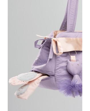 Lila Mädchen Tanztasche