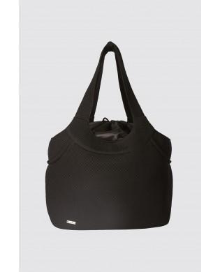 Kleine schwarze Tanztasche