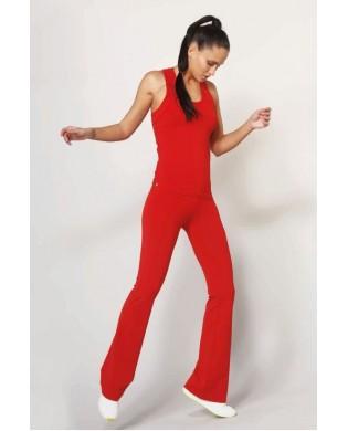Pantalon Femme Jazz Rouge