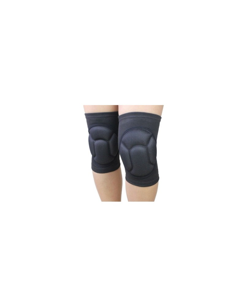 Thick gel knee pads for pole dancing, skating, hip pop or modern jazz