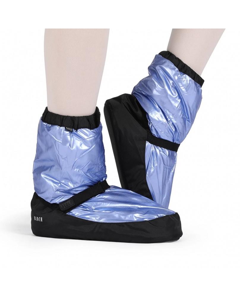 Booties d'Echauffement Métallique Bleu