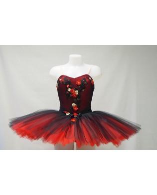 Tutu Femme Rouge et Noir