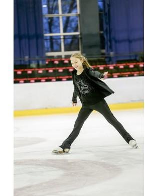 Eiskunstlauf-T-Shirt mit...