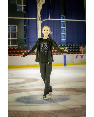 T-shirt Strass Skate