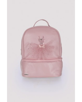 Petit Sac de Danse Fillette Rose