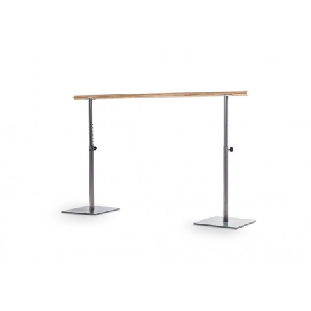 Height-adjustable initiation ballet barre for home