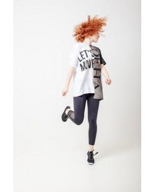 T-shirt Oversize Hip Hop Noir