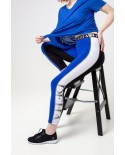 Leggings femme Active Bleu