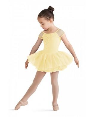 Light yellow printed Tutu for girls