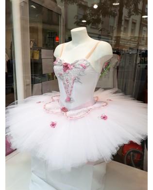 Tutu de danse Eugénie Blanc Customisé