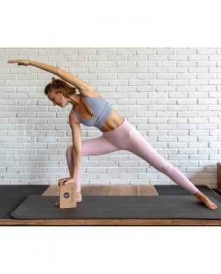 Yoga Block aus Kork