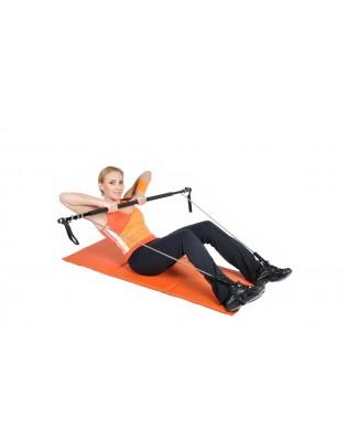 Gym Stick barre renforcement au sol du haut du corps et des abdominaux