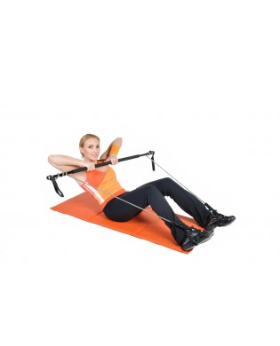 Gym Stick bar upper body and abdominal strengthening
