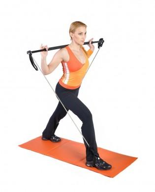 Gym Stick barre pour le renforcement musculaire à domicile