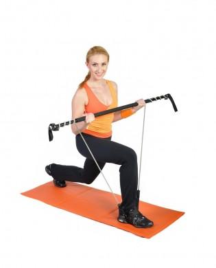 Gym Stick bar sheathing and stretching