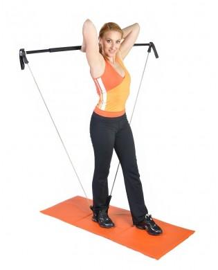 Gym Stick barre petit équipement fitness pour la maison