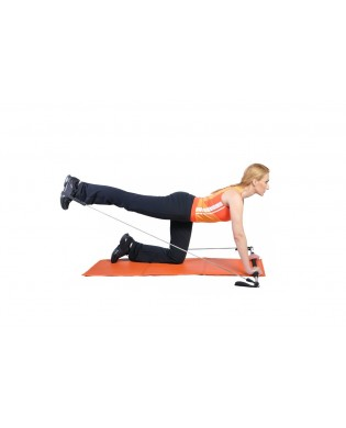 Gym Stick bar for gluteal exercise