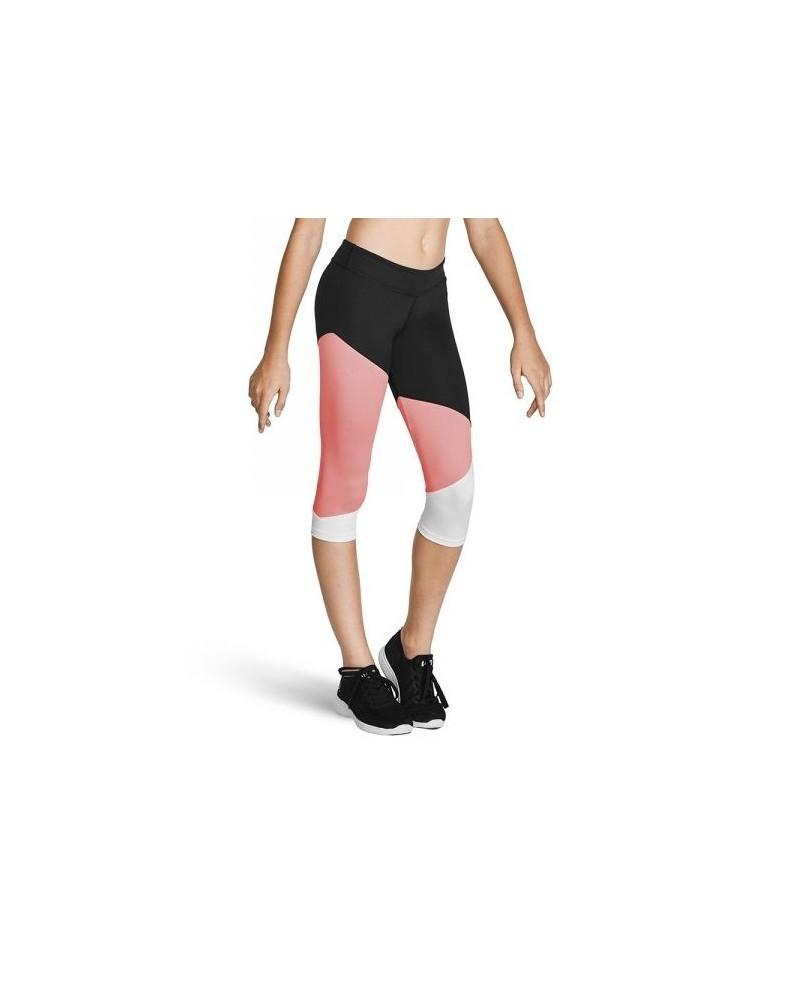 Leggings 3/4 Tri Colore Fille