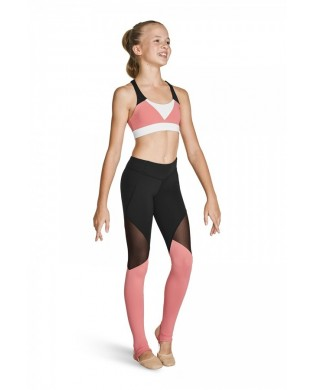 Leggings Sport Tri colore Fille