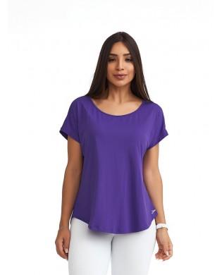 T-Shirt Sport Femme Uni