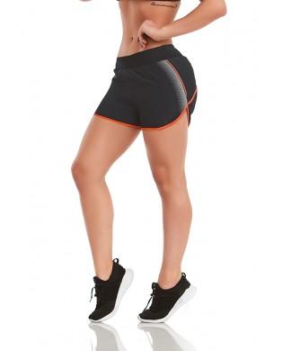 Reflective Woman Running Short