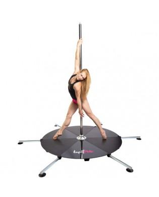 Barre de Pole Dance avec Podium longs pieds