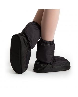 Black Warm Up Booties