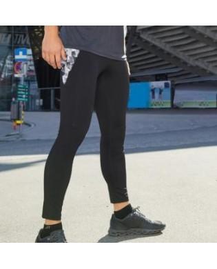 Leggings Sport Homme Noir Imprimé
