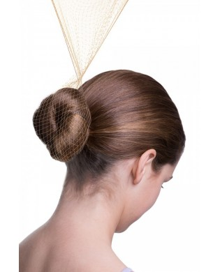 Lot de 3 Filets à Chignon Cheveux Blonds