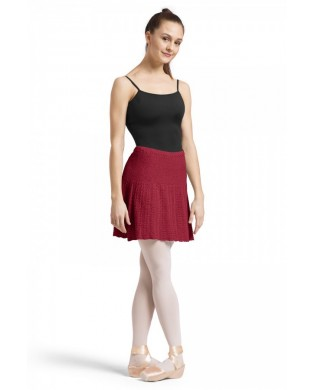 Burgundy Warm Up Skirt
