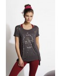 T-Shirt Peace and Love Yoga
