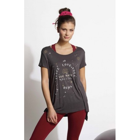 Peace and Love Yoga T-shirt