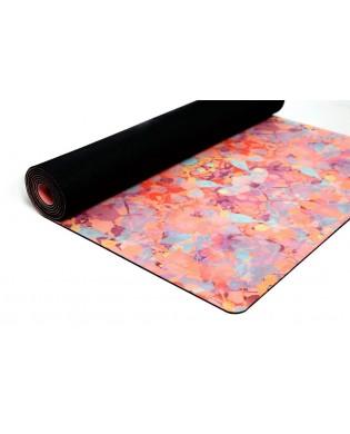 Yoga combo Studio Matte 3.5 mm Kaleidoscop orange farbe