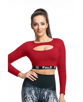 Crop Top manches longues Femi