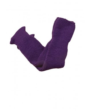 Purple leg warmer